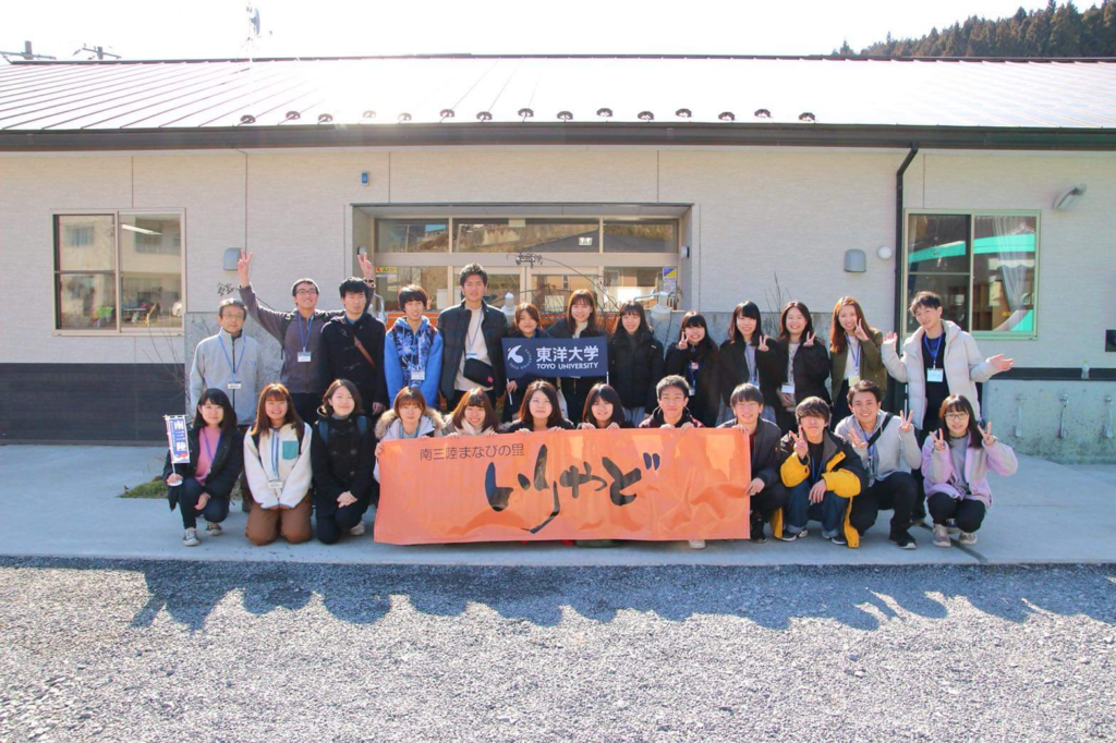プロジェクトMが開催した三陸町ツアー時の写真