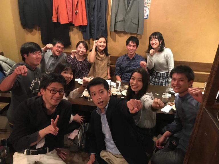 【報告】東海会場 留学体験発表会 懇親会